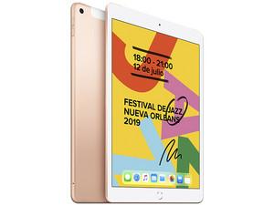 iPad 10.2 Wi-Fi + Cellular de 128 GB. Color Oro.