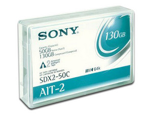 Cartucho de datos Sony SDX2-50C, 50GB, 230 m.