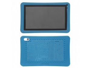 """Funda protectora de silicón para tablet de 7\"""". Color Azul"""