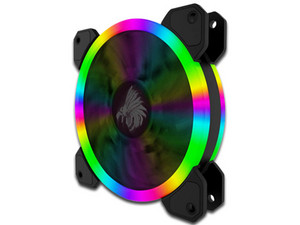 Ventilador Eagle Warrior Orion 1 con Led RGB, 120 mm.
