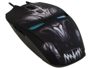 Mouse Gamer Eagle Warrior G14 hasta 2400 dpi, USB.
