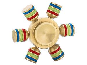 Spinner con forma de Timón de 6 puntas