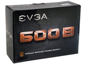 Fuente de Poder EVGA de 600 W, ATX, 80 PLUS BRONZE.