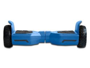 Patineta Eléctrica Blackpcs Hoverboard M406, con Altavoz Bluetooth. Color Azul.