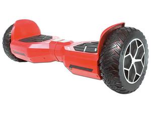 Patineta Eléctrica Blackpcs Hoverboard M408, con Altavoz Bluetooth. Color Rojo.