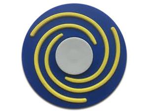 Fidget Spinner Brobotix. Color Azul, diseño Hipnosis.