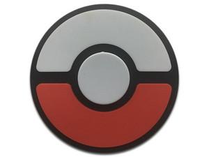 Fidget Spinner Brobotix. Color Negro, diseño Pokebola.