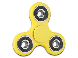 Fidget Spinner Brobotix, color amarillo.