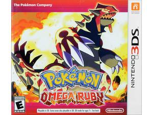 Videojuego Pokémon Omega Ruby para Nintendo 3DS.