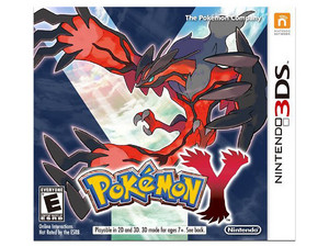 Videojuego Pokémon Y para Nintendo 3DS.