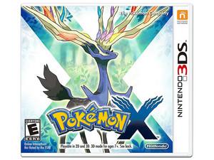 Videojuego Pokémon X para Nintendo 3DS.