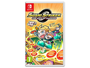 Videojuego Sushi Strikers: The Way OF Sushido para Nintendo Switch.