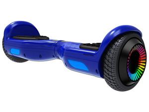 Hoverboard Eléctrico Swagtron Swagboard Twist Remix, Ilimunación LED en ruedas. Color Azul.