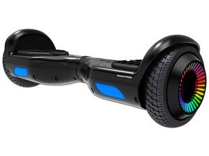 Hoverboard Eléctrico Swagtron Swagboard Twist Remix, Ilimunación LED en ruedas. Color Negro.