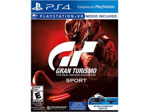Videojuego Gran Turismo Sport para PS4.
