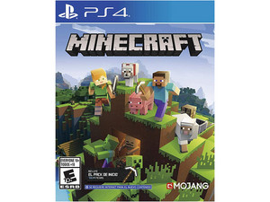 Videojuego Minecraft Bedrock Edition para PS4.