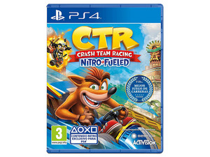 Videojuego Crash Team Racing Nitro-Fueled para PS4.
