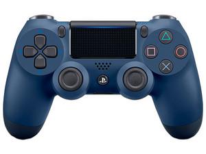 Control Inalámbrico Dualshock 4 (PS4). Color Midnight Blue.