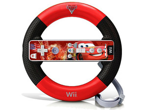 Wii Wheel Cars 2, Incluye Skin para Wii Remote . (Wii)