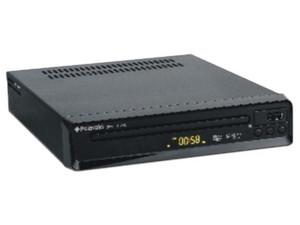 Reproductor de DVD Polaroid, MPEG4, DIVX, USB. Color Negro