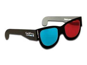 Gafas 3D GoPro Digital Hero, estereoscópicas, 5 Piezas. (Caja Maltratada).