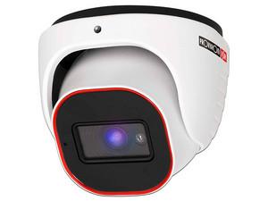 Cámara IP de vigilancia PROVISION ISR de 4MP, Lente de 2.8mm, IR hasta 20m, IP67.
