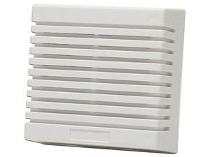 Sirena DSC alámbrica SD-15W para interiores, 2 tonos. Color Blanco.