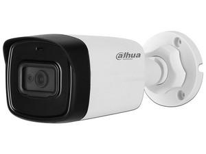 Cámara de Vigilancia Dahua DH-HACHFW1801TLN-A0280 B tipo Bala, 4K, IR 80m, Protección IP67 para Exteriores.