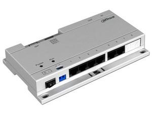 Switch Dahua VTNS1060A para hasta 6 monitores interior, Cat 5e, PoE.