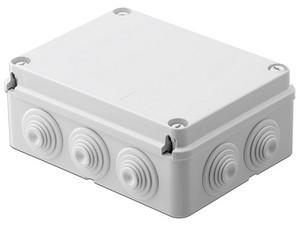 Caja de derivación Gewiss GW-44-007, auto-extinguible, IP55, IK08.
