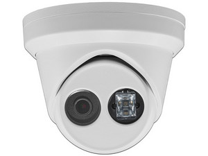 Cámara de Vigilancia IP Tipo Domo Hikvision DS-2CD2343G0-I de 4MP, IR hasta 30m, IP67.