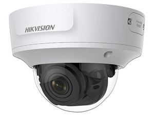 Cámara de vigilancia IP tipo domo Hikvision DS-2CD2763G1-IZS, 3072 x 2048 (6MP), IR hasta 30m, IP67, IK10, PoE+.