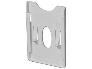 Porta tarjetas Saxxon Asrch de plástico con adhesivo 3m.