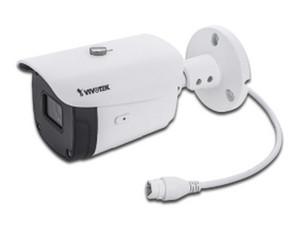 Cámara IP de Vigilancia VIVOTEK IB9388-HT tipo Bullet de 5MP, Compresión de Video H.265, Distancia IR hasta 30m, Protección IP66 para Exteriores.
