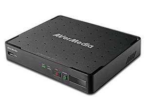 Capturadora de video AVerMedia EzRecorder 310 para TV, soporte para Disco Duro (No incluido) AV, HDMI, USB, Ethernet.