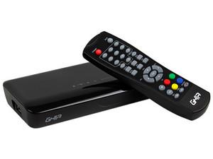Sintonizador de TV digital GHIA con grabación USB.