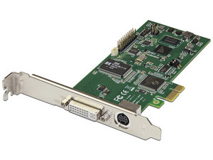 Tarjeta PCI Express Capturadora de Video HDMI, VGA, DVI o Vídeo por Componentes 1080p.