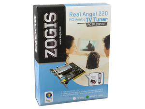Tarjeta ZOGIS Real Angel 220 PCI, Captura de Video, Sintonizador de TV y de Radio FM con Control Remoto.