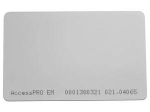 Tarjeta plástica de proximidad AccesPro frecuencia 125khz