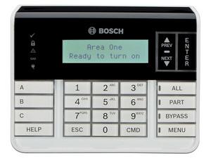 Teclado alfanumérico BOSCH B920 para paneles de alarma SDI2.