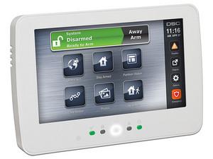 Teclado DSC HS2TCHPN de pantalla táctil para panel de control PowerSeries Neo.