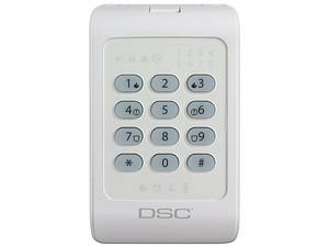 Teclado DSC PC1404RKZWH teclado numérico.