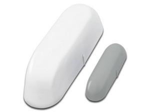 Sensor de puerta o ventana TechZone TZSENSH01. Color Blanco.
