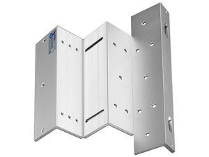 Soporte de fijación ZL para puerta MBK280NZL, apertura interior, compatible con chapa magnética.