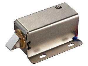 Cerradura Electrica YLI YE302A. Compatible con pulsos NC y NO.