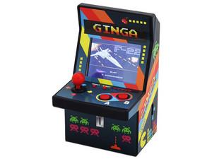 Mini Máquina de Juegos tipo Arcade GINGA con 108 Juegos de 8-bit.