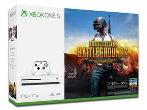 Consola Xbox One S de 1 TB PUBG. Color Blanco.