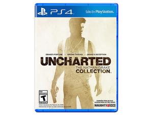Videojuego Uncharted: The Nathan Drake Collection para PS4.