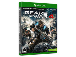 Videojuego Gears Of War 4 para Xbox One.