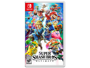 Videojuego Super Smash Bros Ultimate para Nintendo Switch.